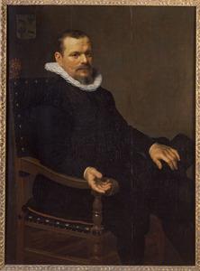 Portret van Laurens Joosten Baeck (.... -1642)