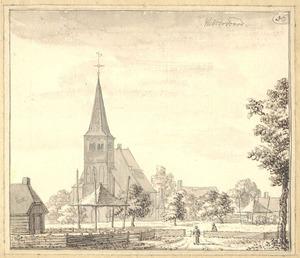 Westervoort, gezicht in het dorp met de kerk