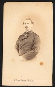Portret van Ludolph van Bronkhorst (1813-1885)