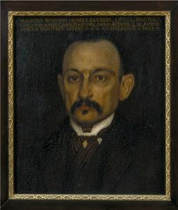 Portret van dr. M.B. Mendes da Costa