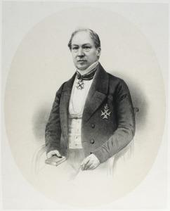 Portret van Johan Antoni Philipse (1800-1884)