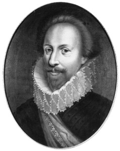 Portret van een man, genaamd Frederik Hendrik van Oranje- Nassau (1584-1647)