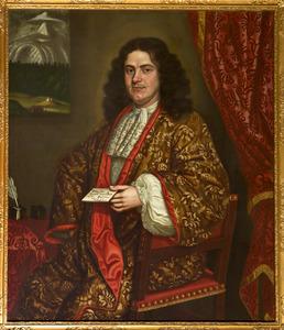 Portret van een man, waarschijnlijk Jacob Beeldsnijder (1661- )