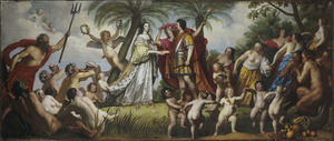 Het huwelijk van Frederik Hendrik en Amalia van Solms