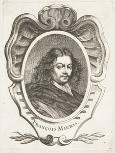 Portret van Frans van Mieris (1635-1681)