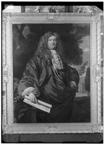 Portret van waarschijnlijk Johan Boudaen Courten ( -1716)