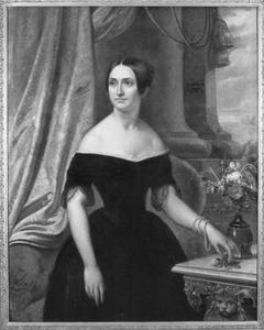 Portret van Hortence Josephine Constance Beyens (1814-1869)