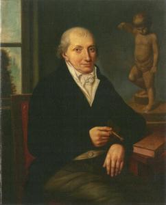 Portret van Johann Valentin Prehn (1749-1821)