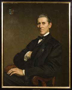 Portret van Herman Adriaan van den Wall Bake ( 1809-1874)