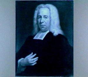 Portret van Willem van Irhoven (1698-1760), hoogleraar in de Godgeleerdheid in Utrecht 1737-1760