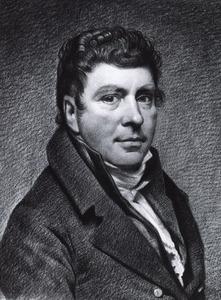 Portret van Willem Bartel van der Kooi (1768-1836)