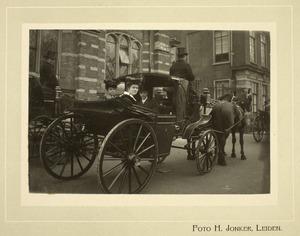 Promotie van Jhr. Dr. Willem Dignus de Jonge, 27 februari 1907