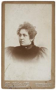 Portret van Cornelia Henriette Meeuwisse (1878-...)