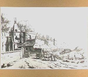 De Hertogpoort te Nijmegen, gezien vanuit het westen