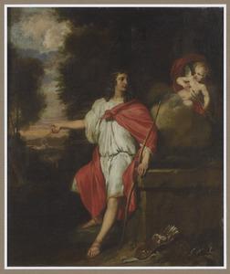 Apollo als de overwinnar op de slang Python