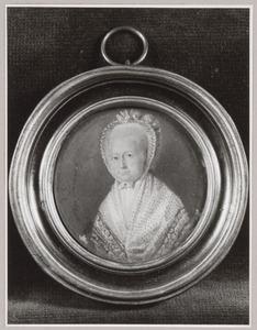 Portret van Elisabeth Anna van Aylva (1738-1794)
