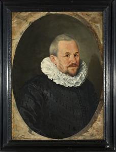 Portret van een man, mogelijk Johan Berck (1565-1627)