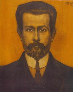 Portret van Theodorus Johannes Josephus Neuhuys (1878-1921)