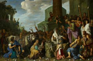 Paulus en Barnabas te Lystra