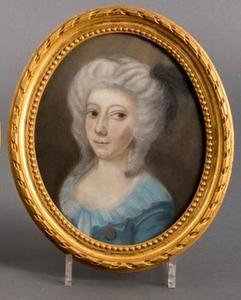 Portret van Johanna Maria Sara Musquetier (1778-1815)