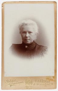 Portret van Hendrika van Keulen ( -1925)