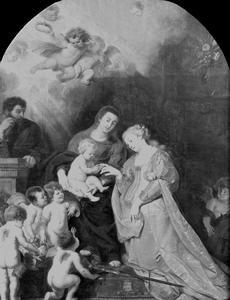 De verloving van de heilige Catharina