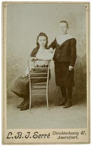 Portret van Petronella Reijckers (?-?) en Cor Reijckers (?-?)