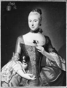 Portret van Jacoba Johanna Bouwens (1741-1793)