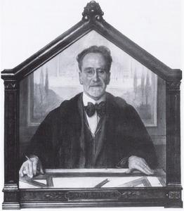 Portret van Johannes Stuijt (1868-1934)