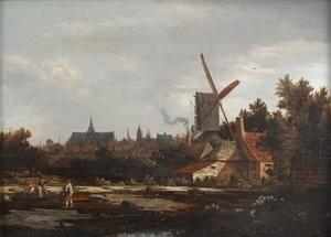 Bleekvelden ten noorden van Haarlem