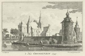 Huis Grondstein bij Elten (Duitsland)