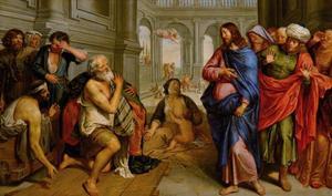 Christus geneest de zieken aan de poel van Bethesda (Johannes 5:1-18)