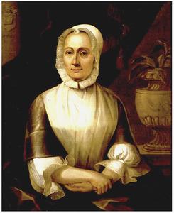 Portret van Sybilla Volkera Sadelijn (1699-1781)
