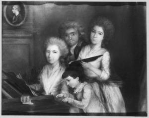 Portret van de kinderen van François Marie Samuël de Constant Rebecques (1729-1800)
