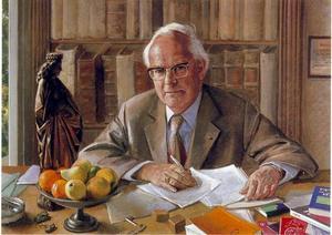 Portret van Desiré P.R.A. Bouvy (1915-1993)