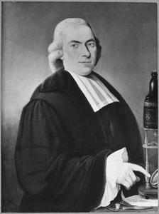 Portret van Antonius Brugmans (1732-1789)
