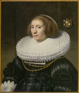 Portret van Levina Ockerse (1607-1678)
