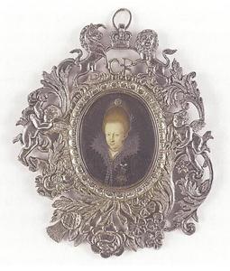 Portret van prinses Dorothea van Brunswijk-Wolfenbüttel (1596-1649)?, later markgravin van Brandenburg