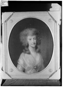 Portret van Johanna Sara Bicker (1766-1793)