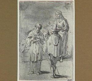 De aartspriester bewijst aan de hand van het kerkregister dat Lazarillo's eerste dochter niet van hem is (Lazarillo de Tormes dl. 2, cap. 8, p. 79)