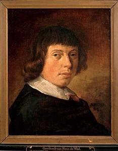 Zelfportret van Vincent Laurensz. van der Vinne (1628-1702)