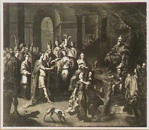 Het huwelijk van David en Abigail (1 Samuel 25:42)