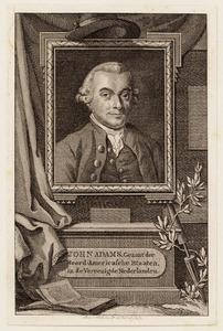 Portret van John Adams (....-1826)