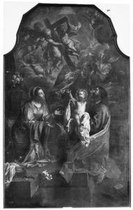 De Heilige Familie en het visioen vande Arma Christi