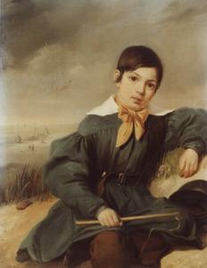 Portret van Gerhardus Frederik Enger (1830-1908)