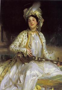 Portret van Almina Wertheimer (1886-1928)