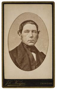 Portret van Jacob Hoede (1817-1886)
