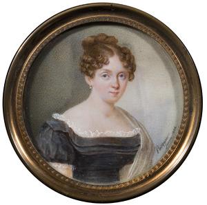 Portret van Otteline Frederica Louise gravin Bentinck (1793-1868)