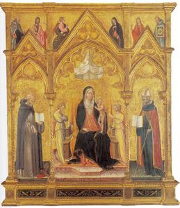 Maria met kind en de HH. Hiëronymus en Augustinus