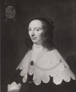 Portret van Jacomina van der Vorst (1611-1665)
